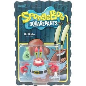 Mr. Krabs Sr. Sirigueijo Bob Esponja - Spongebob Reaction - Super 7