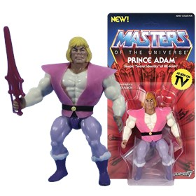Prince Adam Vintage Masters Of The Universe - MOTU - Super7