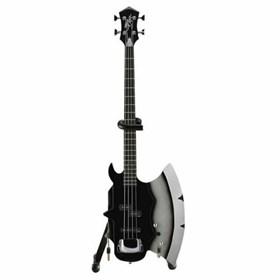 Réplica Baixo Guitarra Miniatura Gene Simmons Kiss Axe Heaven