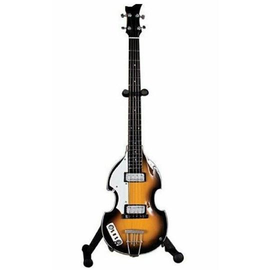 Réplica Baixo Guitarra Miniatura Paul Mccartney Hofner Violin Bass Beatles Axe Heaven
