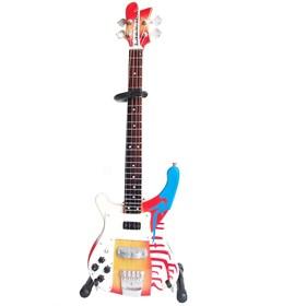 Réplica Baixo Guitarra Miniatura Paul Mccartney MMT Bass Beatles Axe Heaven
