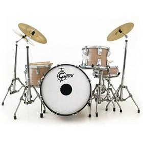 Réplica Bateria Miniatura Charlie Watts Gretsch Mini Drum Set Rolling Stones Axe Heaven