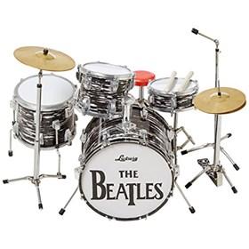 Réplica Bateria Miniatura Ringo Starr Oyster Ludwig Mini Drum Set Beatles Axe Heaven