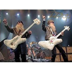 Réplica Guitarra Miniatura Billy Gibbons The Fur ZZTOP Axe Heaven