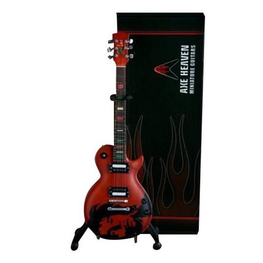Réplica Guitarra Miniatura Bob Marley Epiphone One Love Axe Heaven