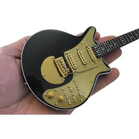 Réplica Guitarra Miniatura Brian May Gold Special Queen Axe Heaven