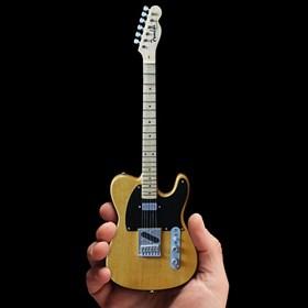 Réplica Guitarra Miniatura Bruce Springsteen Vintage Blonde Fender Telecaster Axe Heaven