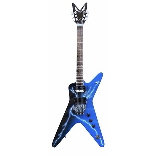 Réplica Guitarra Miniatura Dimebag Darrell Cowboys From Hell Lightning Bolt Pantera Axe Heaven