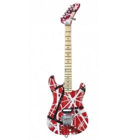 Réplica Guitarra Miniatura Eddie Van Halen 5150 Red White & Black Axe Heaven