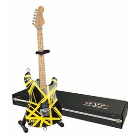 Réplica Guitarra Miniatura Eddie Van Halen VH2 Bumblebee Axe Heaven