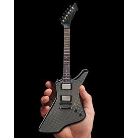 Réplica Guitarra Miniatura James Hetfield Diamond Plate Metallica Axe Heaven