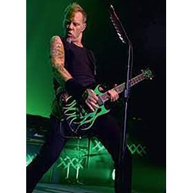Réplica Guitarra Miniatura James Hetfield Signature Grynch Metallica Axe Heaven