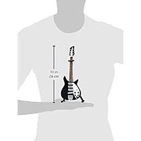Réplica Guitarra Miniatura John Lennon 1964 Rickenbacker Ed Sullian Show Beatles Axe Heaven