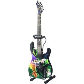 Réplica Guitarra Miniatura Kirk Hammett Signature Dracula Metallica Axe Heaven