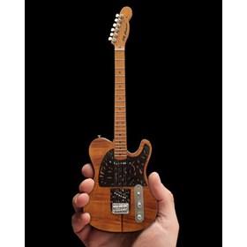 Réplica Guitarra Miniatura Prince Mad Cat Fender Telecaster Axe Heaven