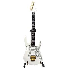 Réplica Guitarra Miniatura Steve Vai White Jem Axe Heaven