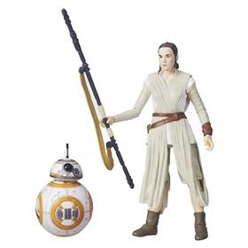 Rey e BB-8 Star Wars Black Series Hasbro