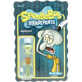 Squidward Lula Molusco - Spongebob Reaction - Super 7