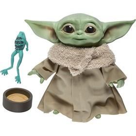 The Child Grogu Baby Yoda Pelúcia que fala - Mandalorian - Star Wars - Hasbro