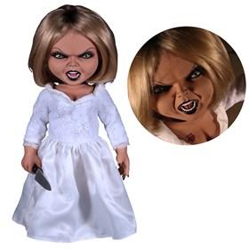 Tiffany A Noiva do Chucky 38 cm - Mega Scale Talking Tiffany Doll Seed of Chucky - Mezco