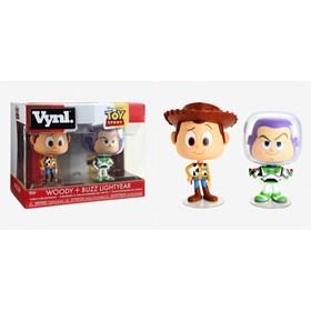 Woody + Buzz Lightyear Vinyl Figures Funko - Toy Story Disney
